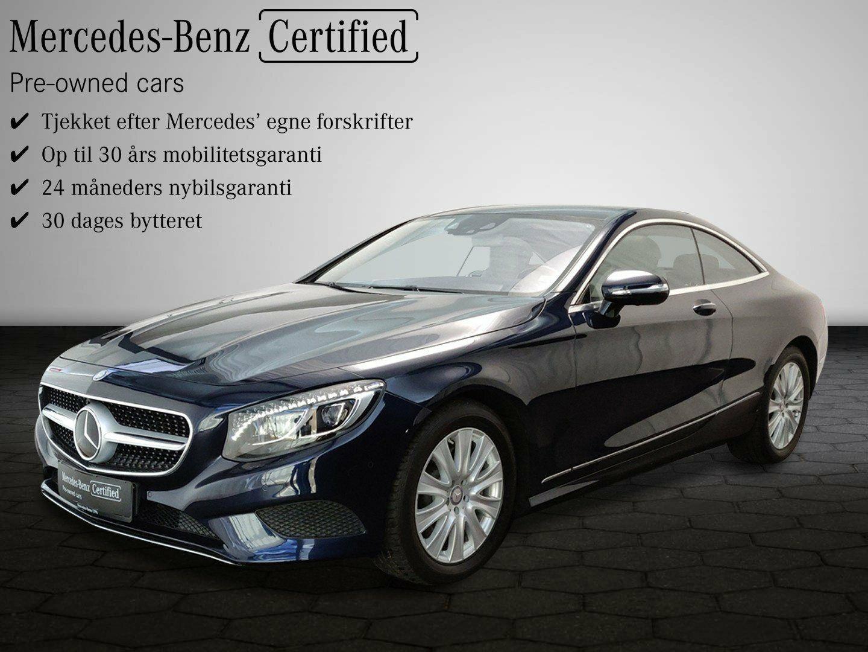 Mercedes S500 4,7 Coupé aut. 4-M 2d - 1.049.900 kr.