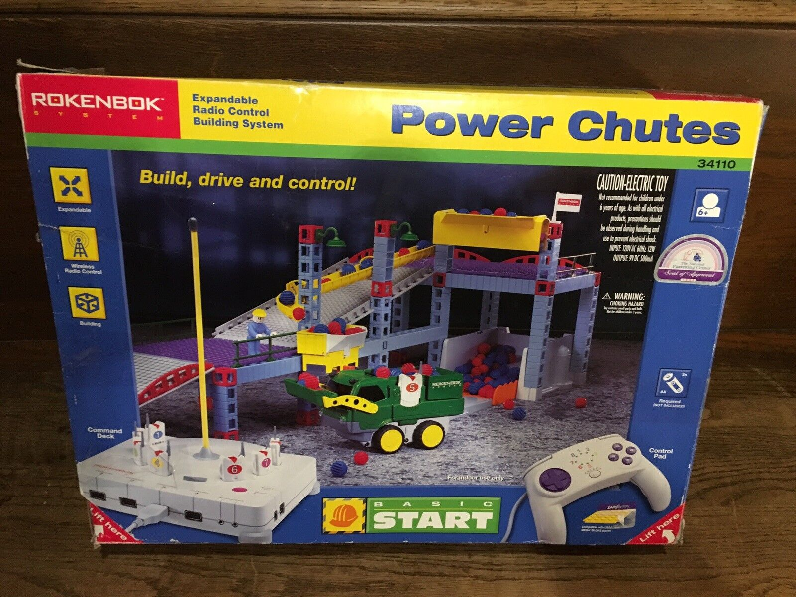 Rokenbok Basic Start Power Chutes set. Mostly Complete - Ex NMIB