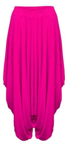 Ladies Legenlook Baggy Alibaba Trousers Plain Womens Hareem Pants Plus Size