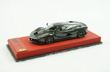 1/43 BBR FERRARI LAFERRARI SILVERSTONE GREY ON RED LEATHER BASE LIMITED 25 PC MR
