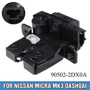 Portellone-Bagagliaio-Serratura-Chiusura-Per-Nissan-Qashqai-Micra-Mk3-Tiida