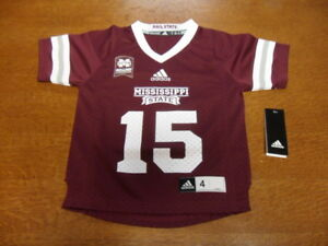 the best attitude fee8c 30e46 Details about Youth Mississippi State Dak Prescott Adidas Football Jersey  Dawg Legends Size 4