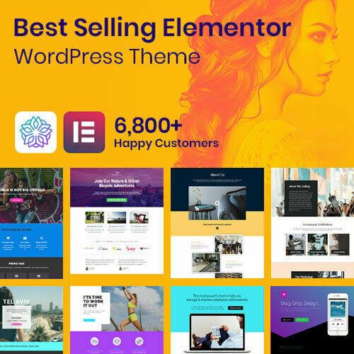 Phlox Pro - Best Elementor Wordpress Themes + pro plugins included - Free Update 2