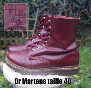 doc martens taille 36 Bordeaux Rouge vernis | eBay