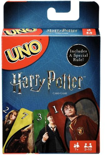 Uno Harry Potter Card Game Mattel Game