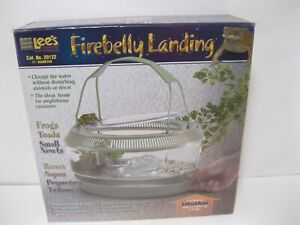 Round w//Lid Handle Tray Plant Lees Fire Belly Landing