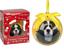 Cane-da-Compagnia-Pallina-di-Natale-Decorazione-Albero-Memoriale-Ornamento miniatura 4