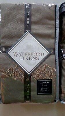 Waterford Linens Mercer  One Euro Shams