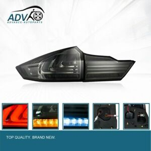 Pair-LED-Smoked-Tail-Lamps-lights-Fit-Honda-City-GM6-Ballade-2014