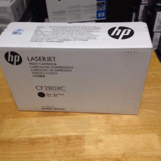 80X High Yield Black Toner Cartridge 6.9k Damaged Open Box OEM HP CF280XC