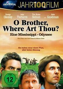 O-Brother-Where-Art-Thou-Eine-Mississippi-Odysse-DVD-Zustand-sehr-gut