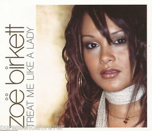 Zoe Birkett Treat Me Like A Lady Uk 4 Trk Enh Cd Single