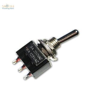 5x Miniatur Schalter Kippschalter An An Umschalter Mini Ebay