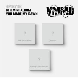SEVENTEEN You Made My Dawn 6th Mini Album CD+Photobook+P[wbr/]hotocard+Etc