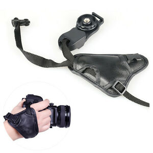 SLR-DSLR-Camera-PU-Leather-Grip-Wrist-Hand-Strap-Universal-for-Canon-Nikon-Sony