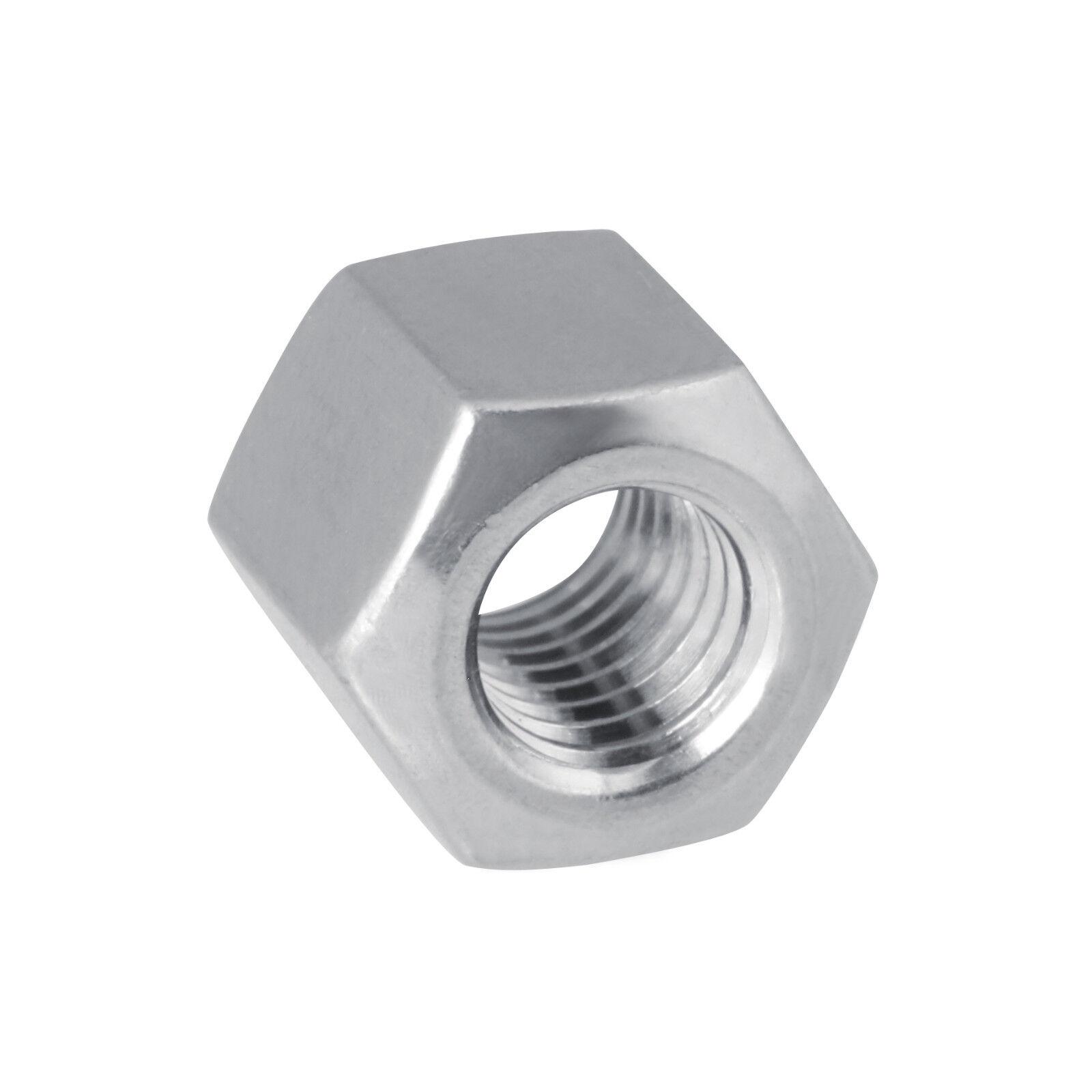 DIN6330 Sechskantmutter kugelige Auflagefläche Edelstahl Stahl A2, A4, Stahl 10