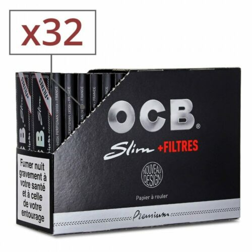 feuille a rouler ocb slim et tips x 32