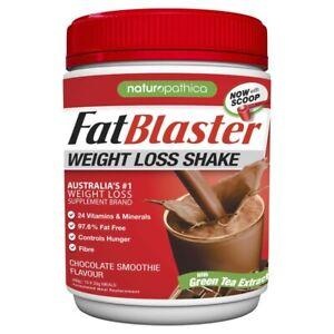 Naturopathica Fat Blaster Less Sugar Chocolate Shake 430g