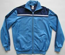 Adidas 1980s made in Hungary blue track top jacket vintage L D52 F180 Large L