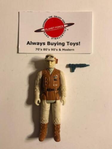 1980 Rebel Soldier Complete Vintage ESB Star Wars Kenner Figure Original Weapon