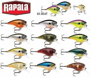 NEW-2018-Rapala-BX-Brat-5cm-10g-Fishing-Lure-Balsa-Bass-Multi-Various-Colours