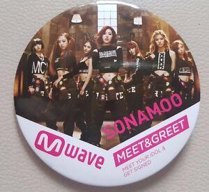 Sonamoo deja vu mwave exclusive badge meet and greet rare photo image is loading sonamoo deja vu mwave exclusive badge meet and m4hsunfo