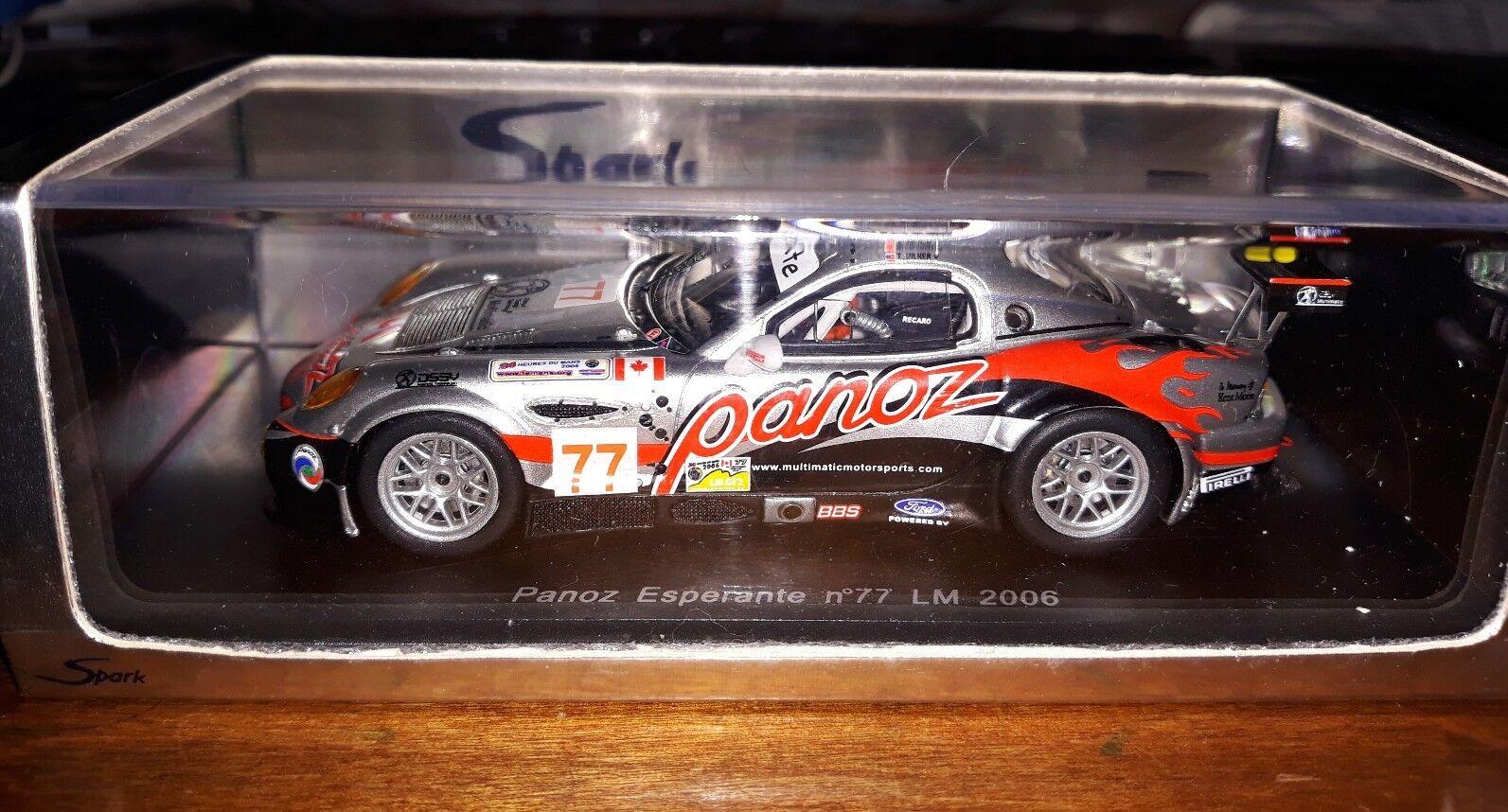 Spark 1 43 Panoz Esperante  77 Le Mans 2006 S0098