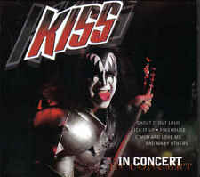 Kiss-In Concert cd Album digipack