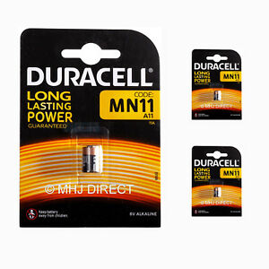 3-x-Duracell-11A-MN11-A11-CX21A-L1016-E11A-6v-Alkaline-Batteries-Use-By-2023