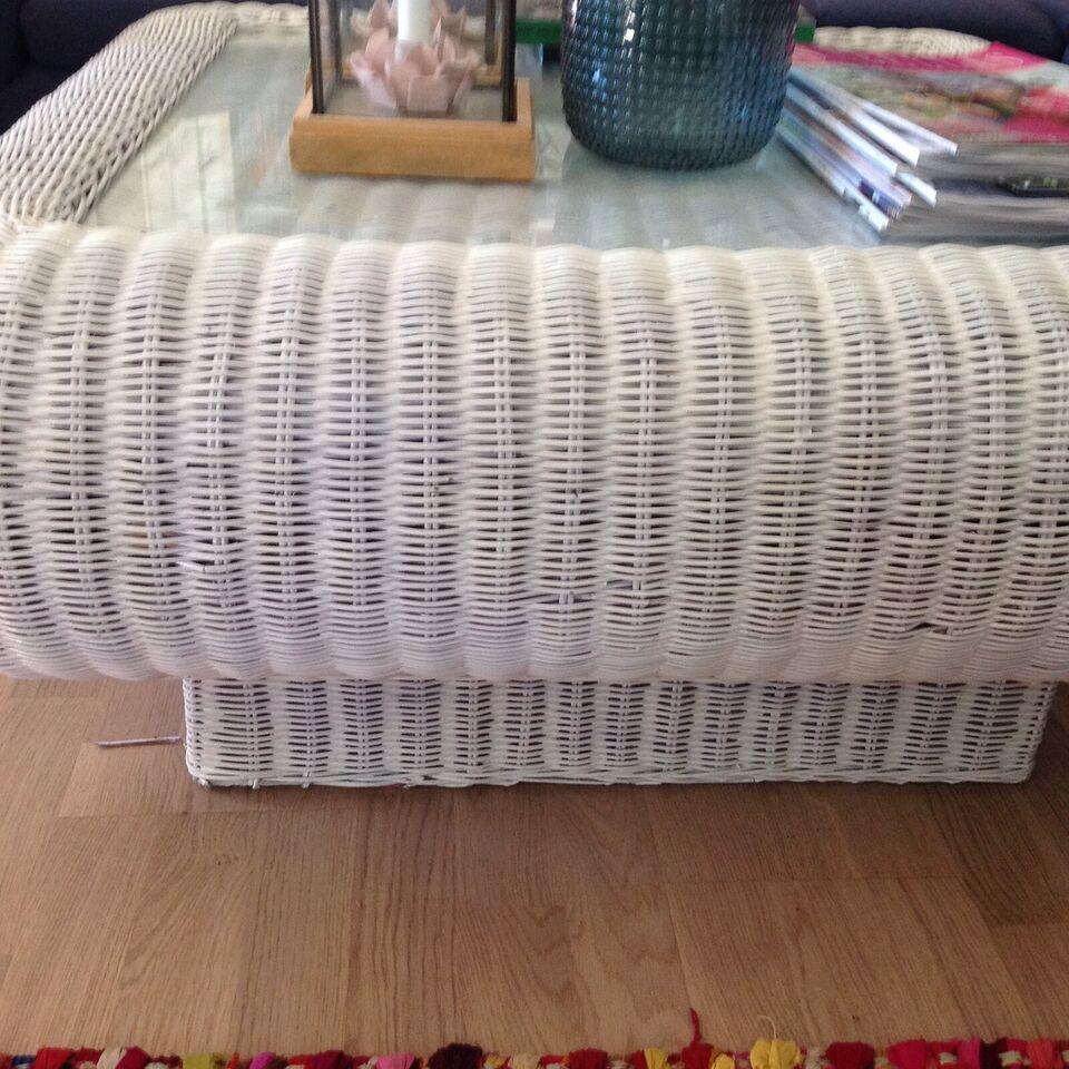 Sofabord, bambusflet