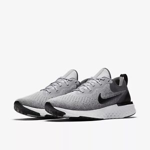 donde quiera tiburón admiración  AO9819-003 Men's Nike React Odyssey Running Wolf Grey/Platinum-Blk Szs 8-13  NIB | eBay