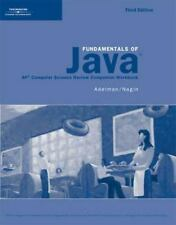 Activities Workbook for Lambert/Osborne's Fundamentals of Java: AP* Computer S..