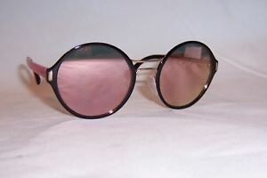 59f558839e NEW PRADA SUNGLASSES SPR 57TS AAV5L2 BLACK GOLD MIRROR AUTHENTIC 57 ...