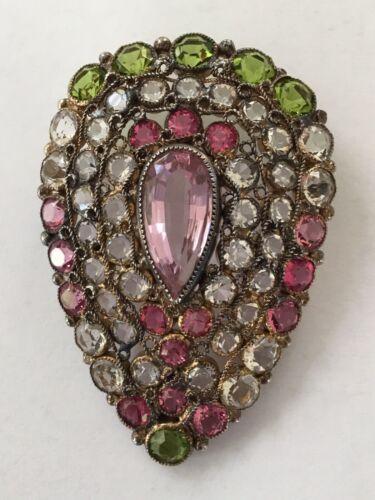 Fabulous Early Rare Vintage Hobe pin brooch Late 1