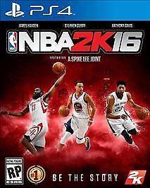 NBA 2K16 Sony PlayStation 4, 2015  - $1.20