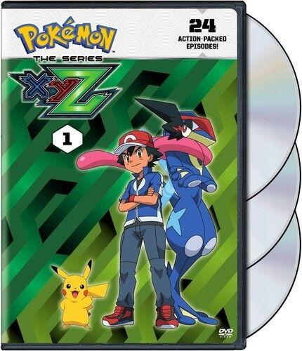 Pokemon The Series: XYZ Set 1 [New DVD] 2 Pack