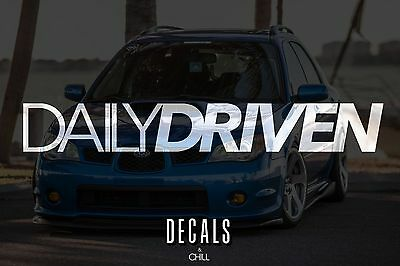 Illest Lowered JDM Stance Low Slammed Because Racecar v2 Decal Sticker