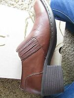 Born B.o.c Brown Boots Booties Womens 6 Catalina Shooties Shoes