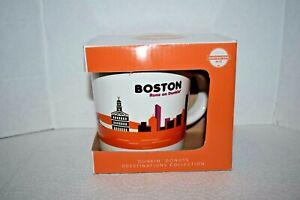 Limited Edition Dunkin Donuts Boston Runs On Dunkin Mug 2012 Destination Series