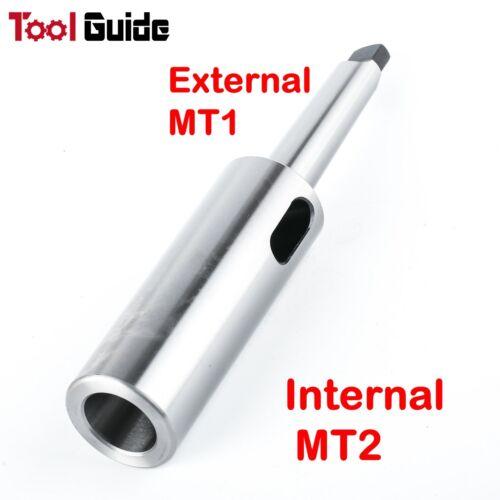 Morse Taper Drill Reduced Extension Socket Sleeve MT2 to MT1 Adaptor MT1 // MT2
