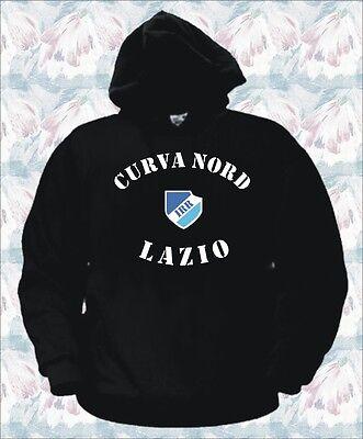 FELPA HOODIE IRRIDUCIBILI Lazio Calcio Serie A Uomo XL