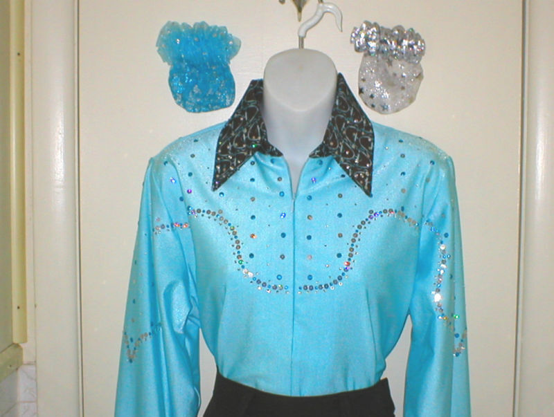 Plus Size Western Rail or Glamor Shirt N  3 colorChoices  save up to 30-50% off