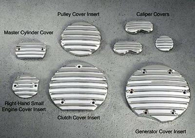 YAMAHA OEM CHROME RIGHT HAND SMALL ENGINE COVER INSERT 2014 BOLT STAR MOTORCYCLE