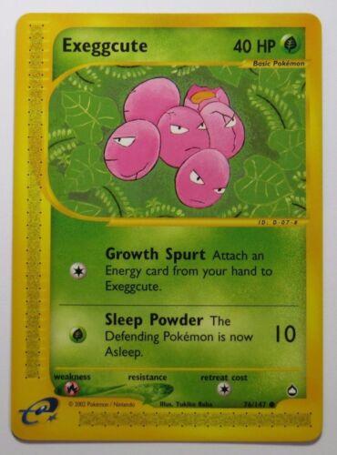 Select your card AQUAPOLIS Common//Uncommon Pokemon Cards