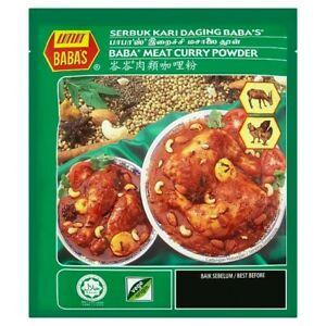 Malaysian Babas Meat/Chicken Curry Powder (NON SPICY) 250g