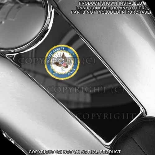 USN NAVY Touring Gas Tank Console Insert Decal Skin For 87-07 Harley