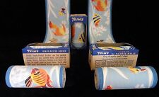 Vntg 1930's Tropical Fish Wallpaper Border TRIMZ Vibrant Colored Fish Swimming