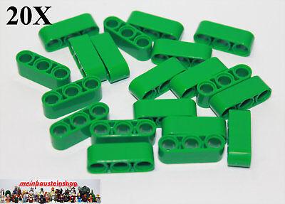 Intenzionale 20x Lego ® 32523 Tecnologia Spessore Lift Braccia Beams 1x3 Verde Green Nuovo-mostra Il Titolo Originale Chiaro E Distintivo