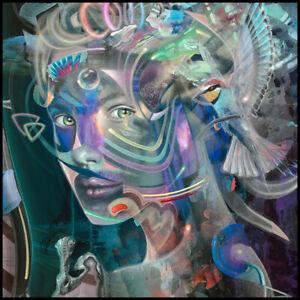 Dennis Konstantin Bax Kunstdruck | Visionäre Kunst Neo Surrealismus Dali Fuchs