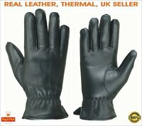 Ladies Womens Girls Winter Warm Real Leather Touch Screen Driving Fashion Gloves